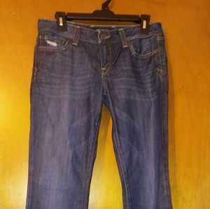 Lucky Brand jeans Lola boot size 4